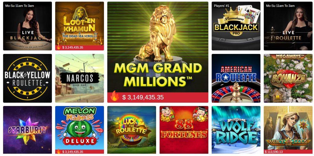 betmgm online casino bonus code